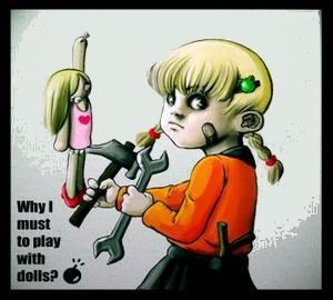 Why I must to play with dolls?